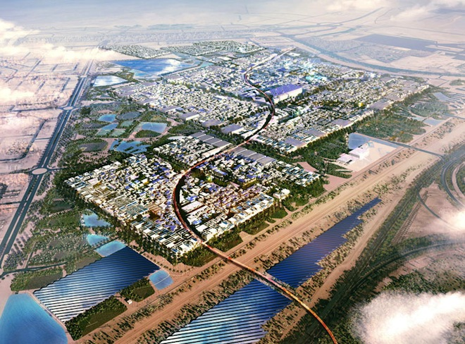 Masdar, the world's greenest city: the project