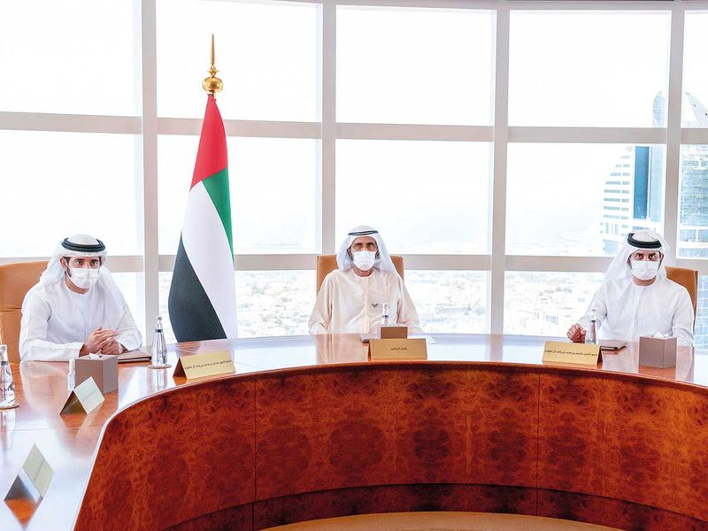 Dubai Government Restructuring